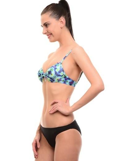 T-Box Bikini Üst Turkuaz